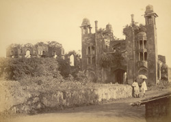 Lalbagh Fort, south entrance, south view, [Dhaka]